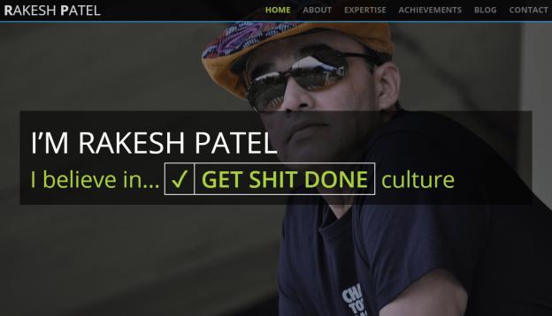Rakesh Patel's Personal Weblog