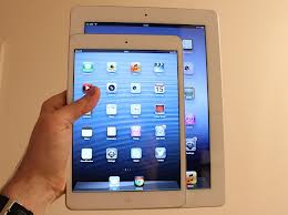 An iPad and iPad Mini