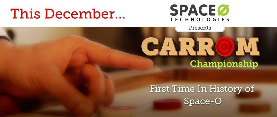 Space-O Carrom Compitition