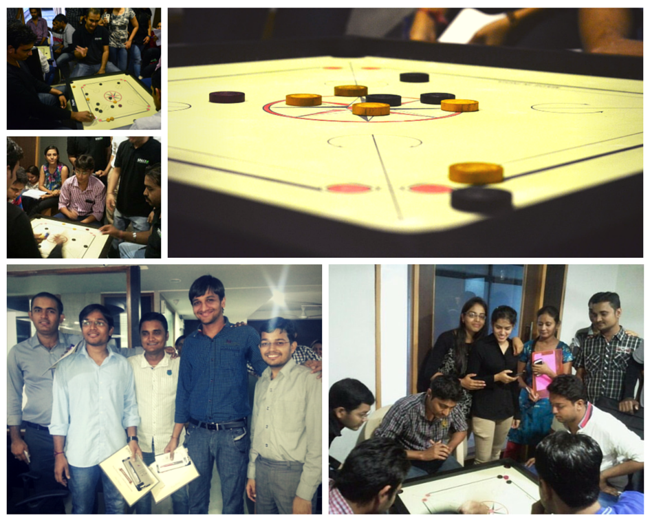 Carrom at Space-O