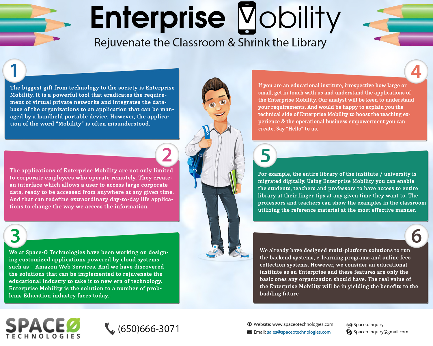 Enterprise Mobility for Educational Institutes and Redefining the Learning Experience