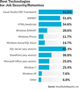 .NET Technologies and Job Security