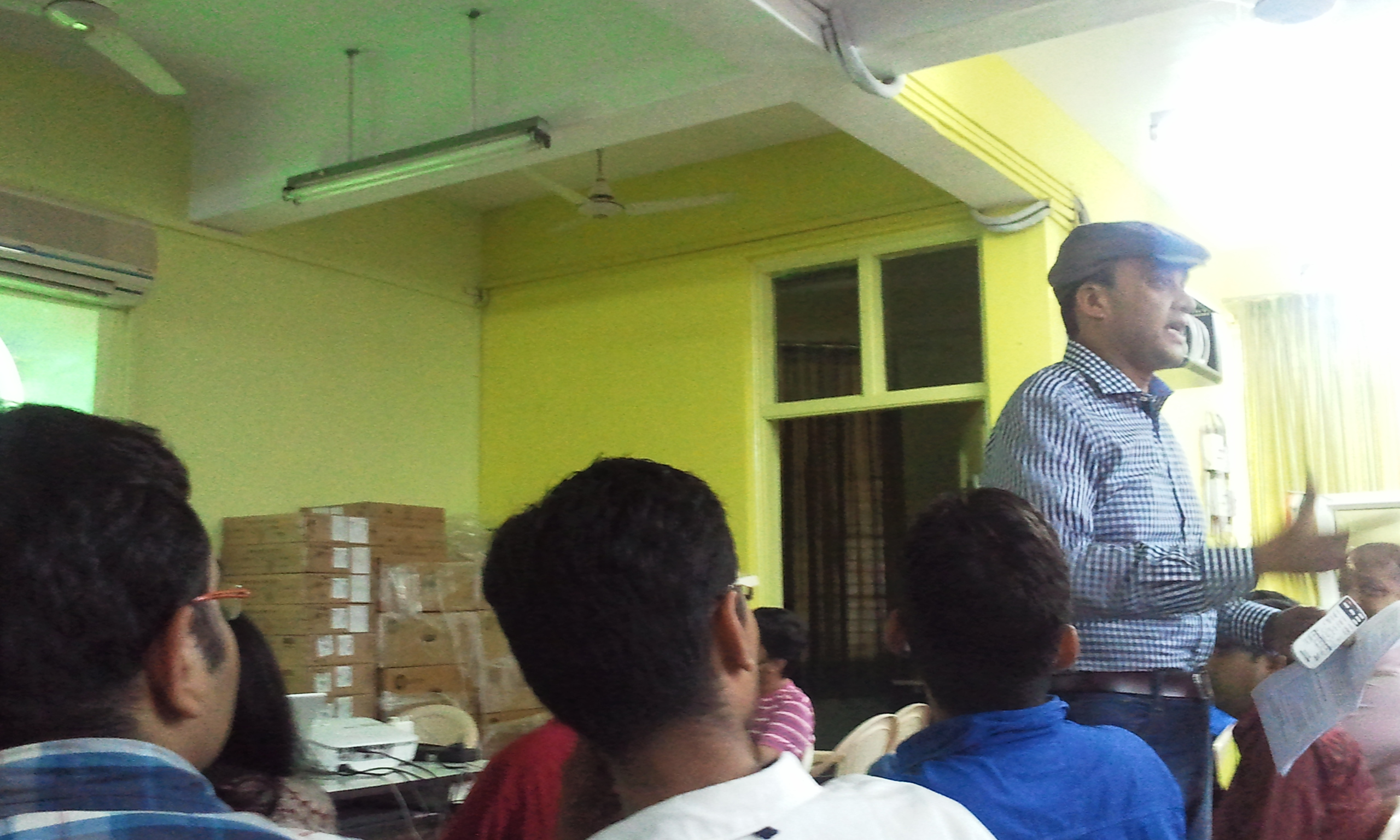Rakesh Patel at eChai