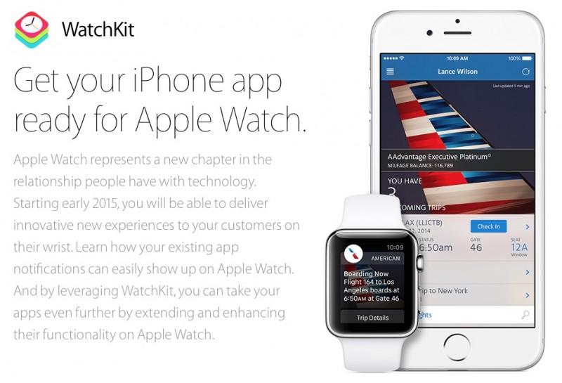 apple watchkit app