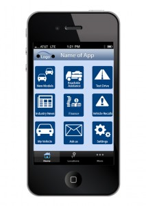 Automotive mobile app development