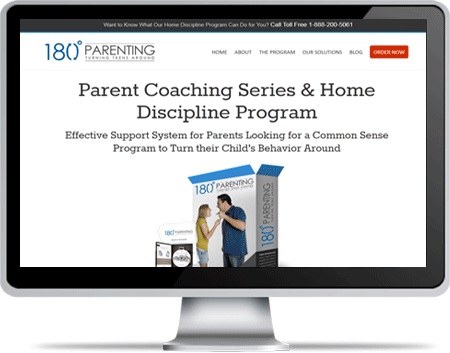 180 Parenting Ecommerce Website
