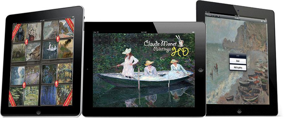 Claude Monet Paintings HD