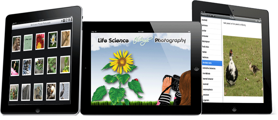 Life Science Through Photography – iPad