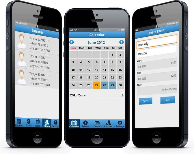 myPrivate Calendar