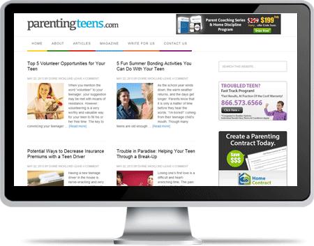 Parenting Teens Web Portal
