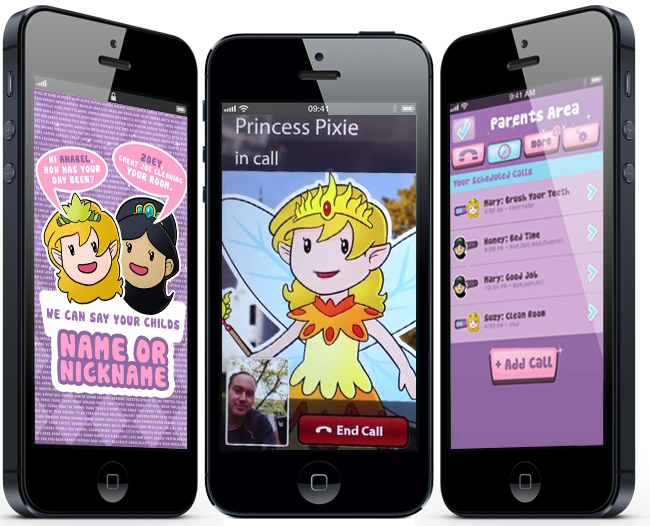 Princess Calls – Magic Phone Call for your Child