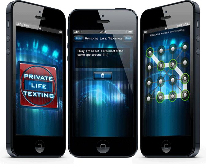Secret phone app