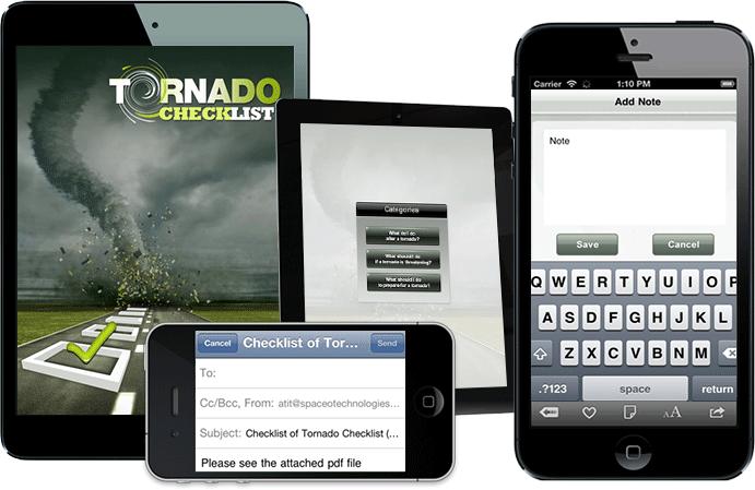 Tornado – Checklist