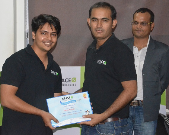 R&R Award to Amrit Trivedi - Space-O Technologies