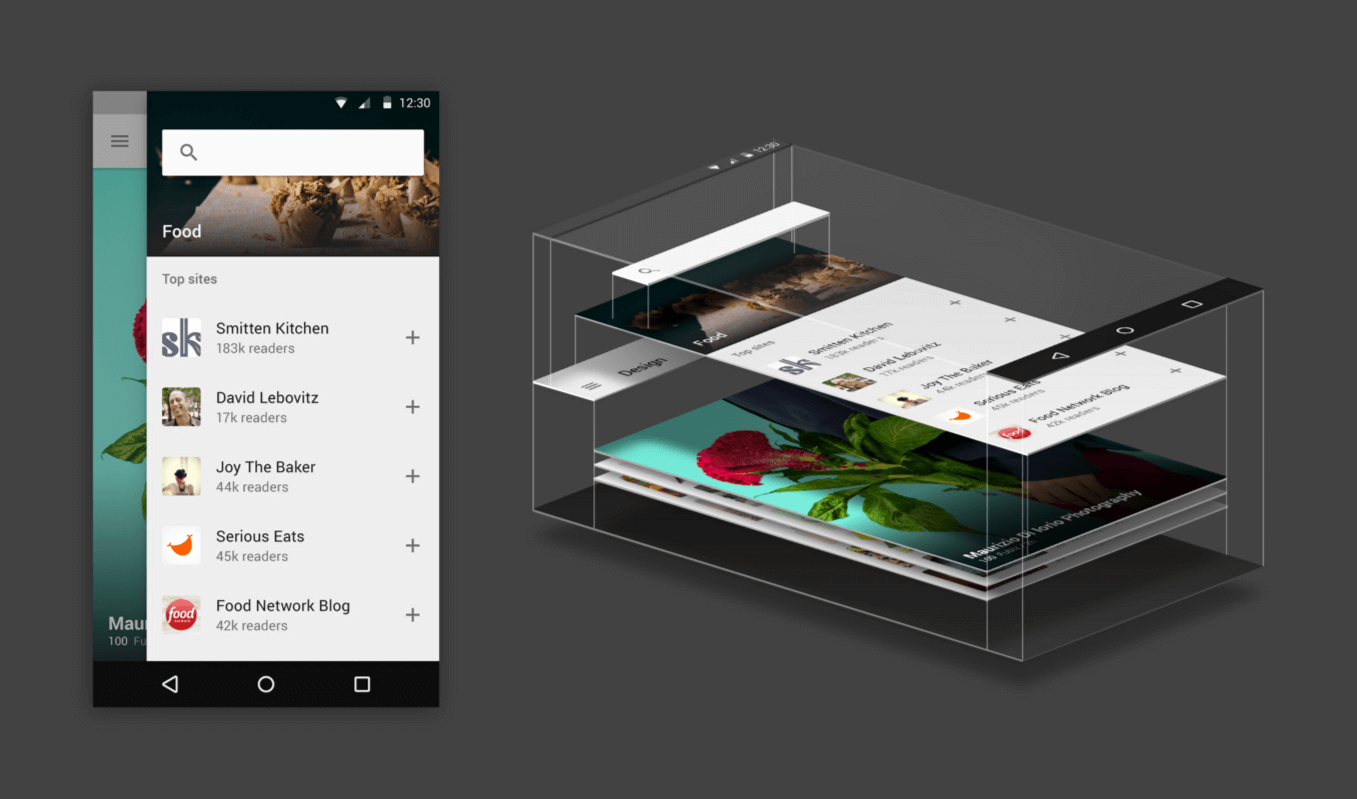 material design app design trends ideas - App Design Ideas