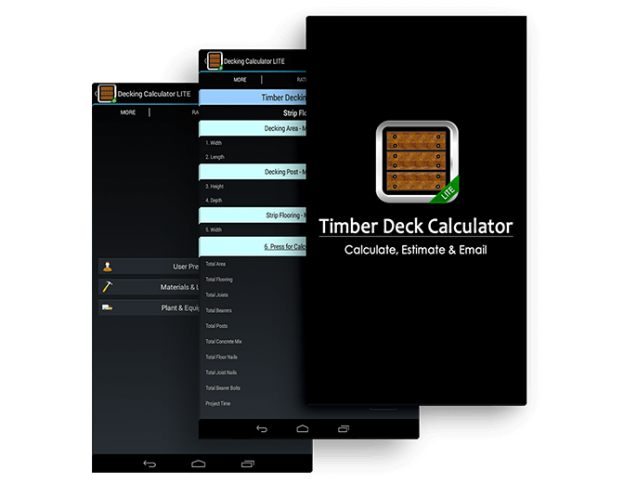Decking Calculator LITE