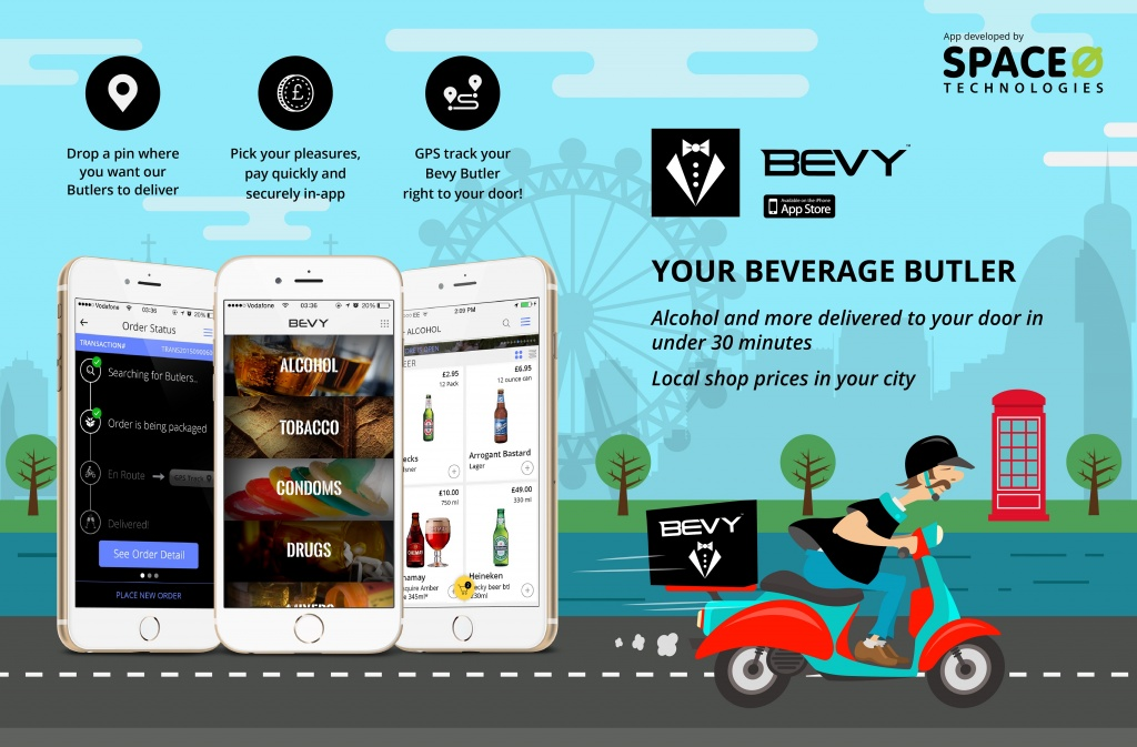 Bevy - On-Demand Alcohol App