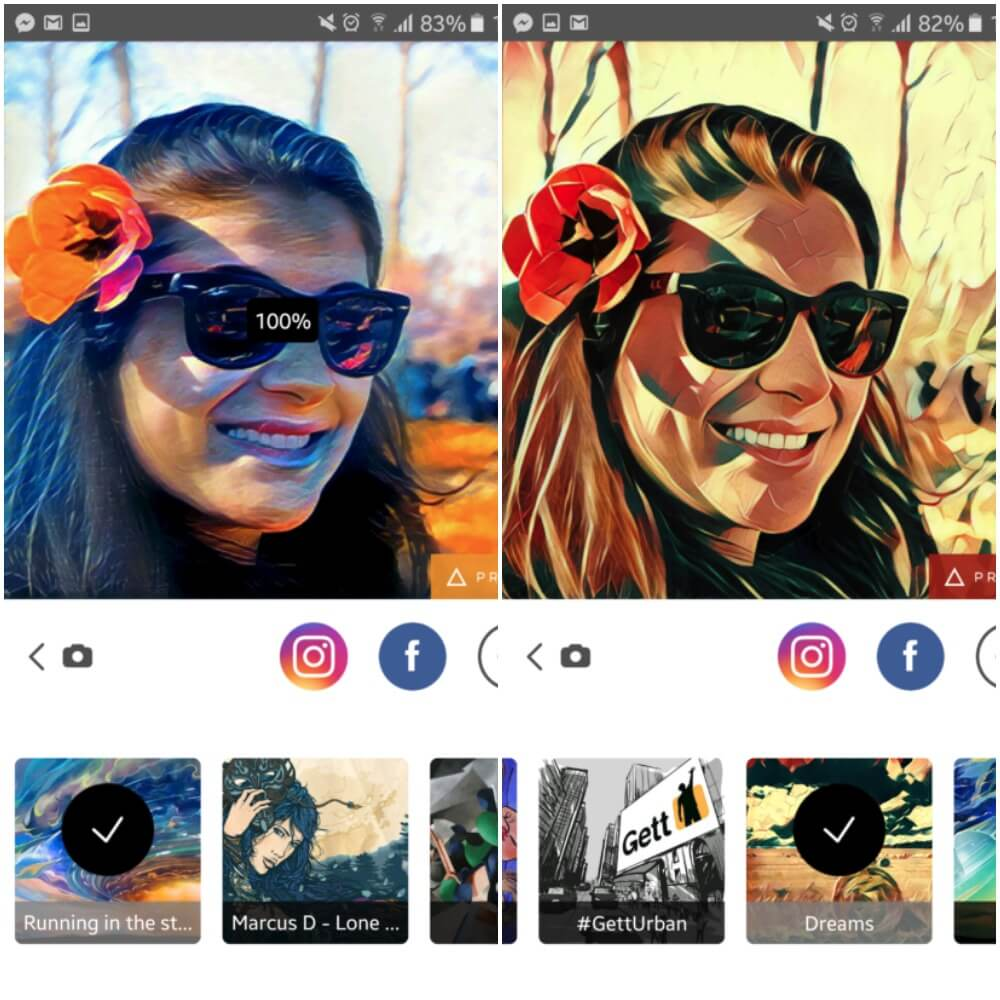 make an app like Prisma